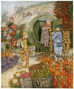 Arthur Rackham Dwarfs